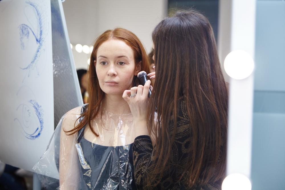 Обучение профессиональному макияжу