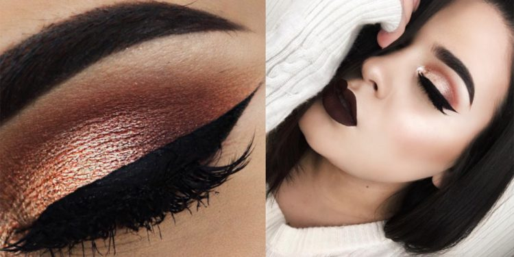Какой макияж для черных волос