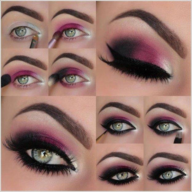 макияжа для зеленых глаз