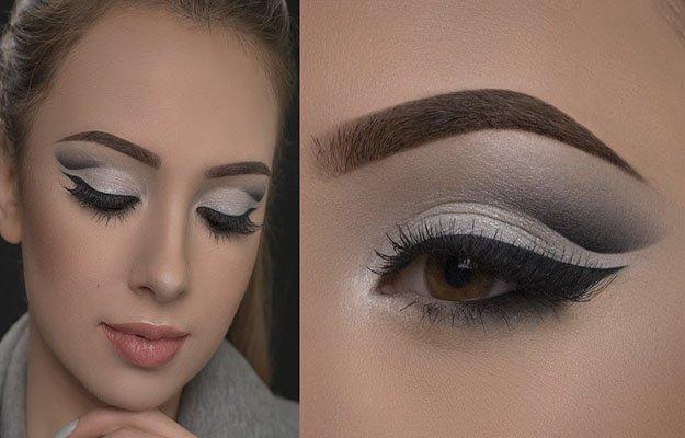 макияже глаз