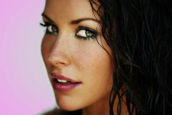 урок макияжа для зеленоглазых