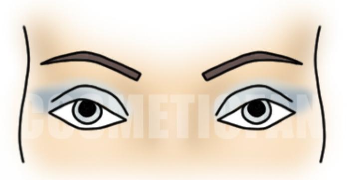 с серыми глазами