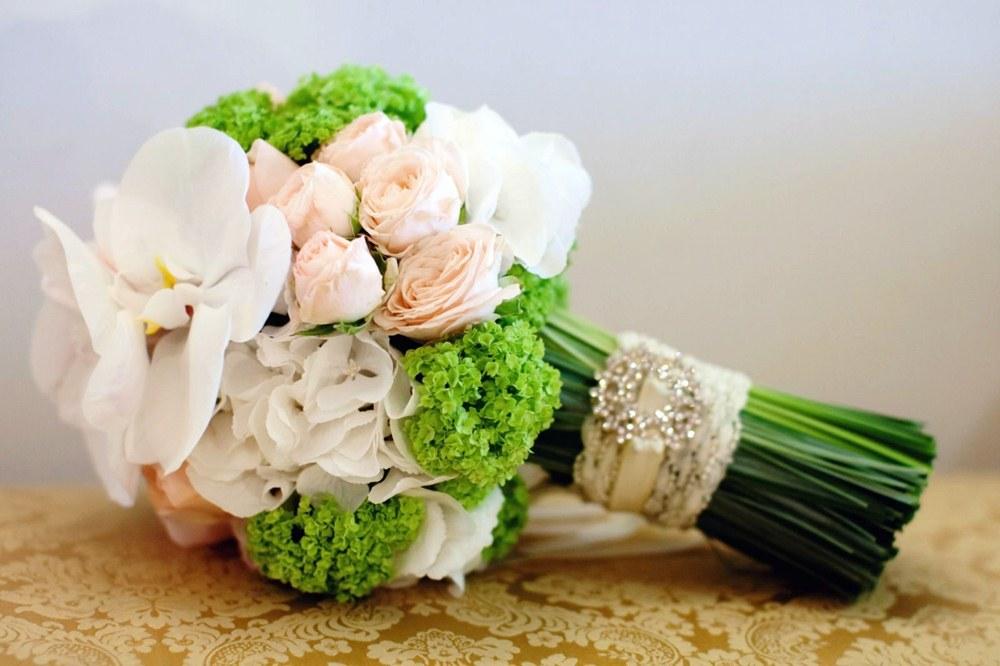цветочное оформление букета