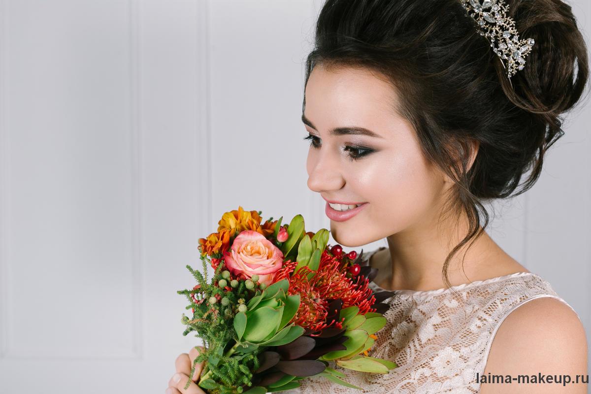 Свадебный образ фото