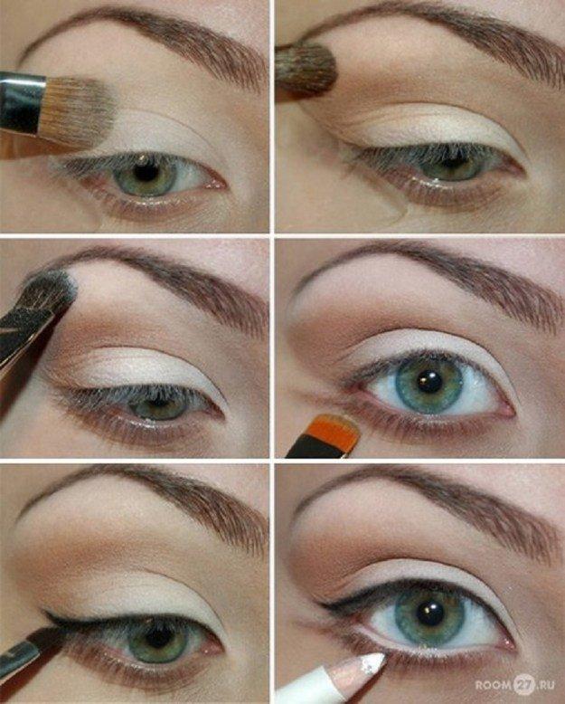 нанесения макияжа