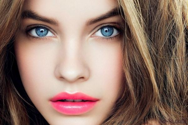 урок макияжа для голубоглазых