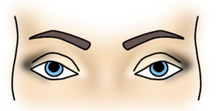 Техника создания макияжа для голубоглазых