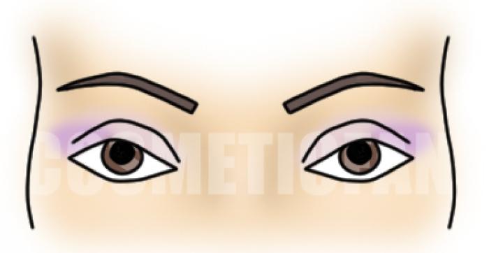 с карими глазами