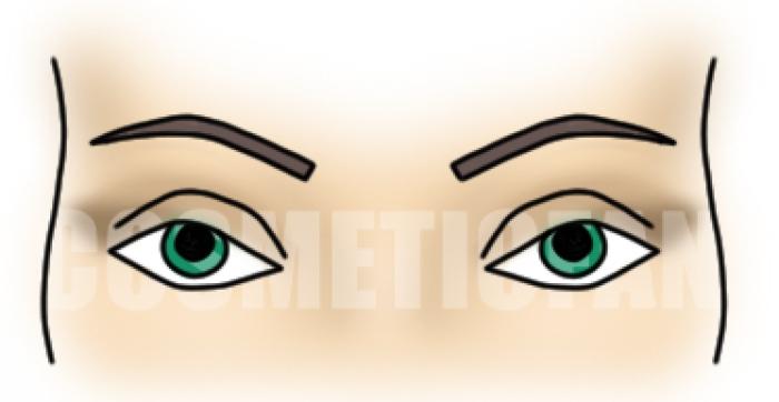 с зелеными глазами