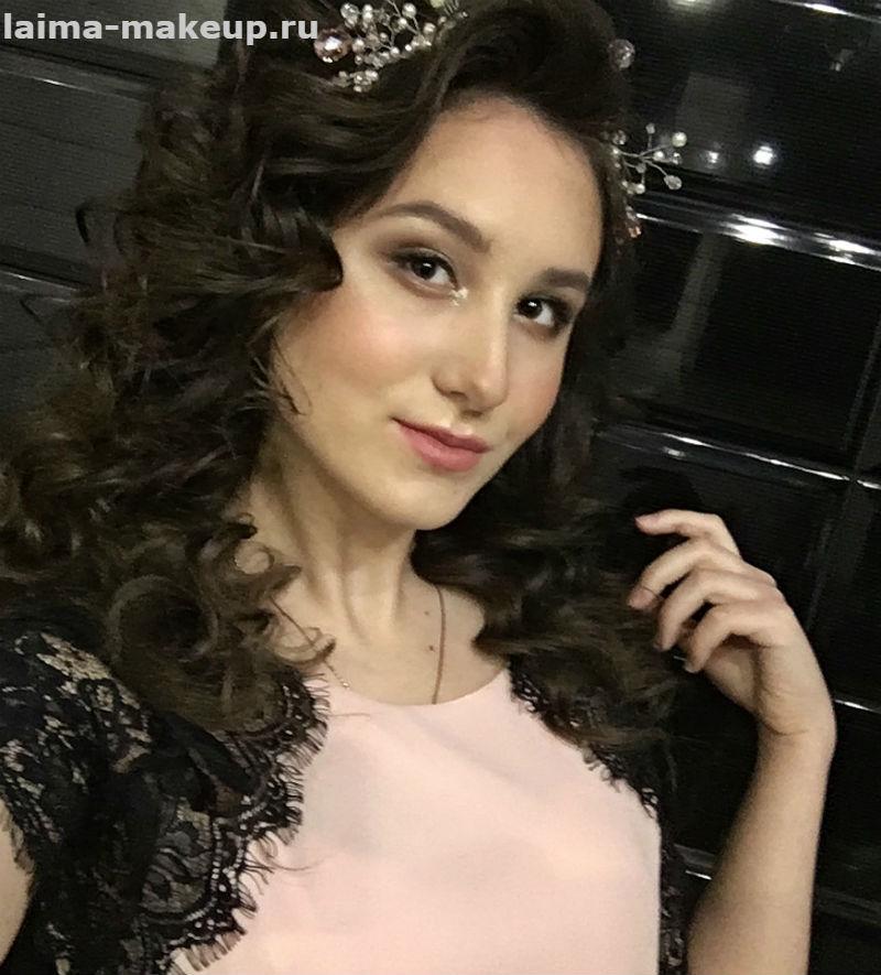 Фото макияжа и прически